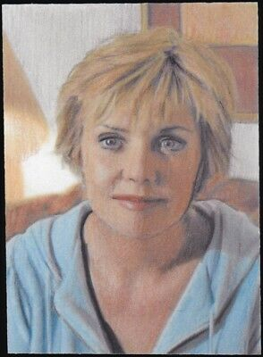 Stargate SG-1 Sam Carter 1/1 Original Sketch Card Art by Jason Arends ACEO