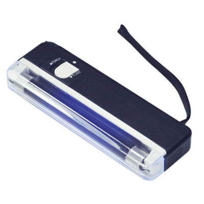 2 In 1 Ultra Portable Uv Bank Note Checker With Torch Fake Money Detector L112F