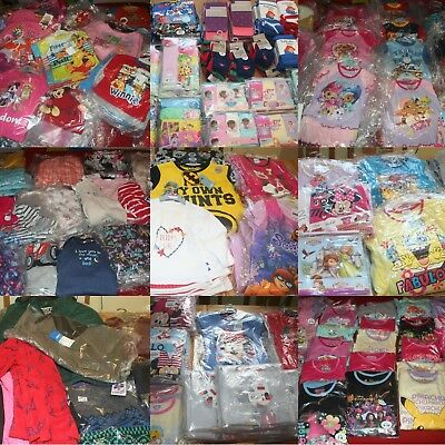 Wholesale Job Lot of BRAND NEW Children's Clothing - HUGE Item Variety Available
