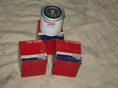 3 x OIL FILTER GFE320. Rover SD1/TR8, Land Rover/Defender/Disco