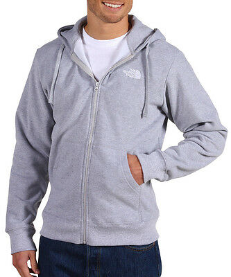 NWT The North Face Logo Full Zip Sizes Large and Extra Extra Large 2XL XXL Grey