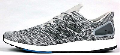 brand new 63aac d73fc Adidas Pureboost DPR NEW Men s Running Shoes Boost S82010 Gray White Black  Blue