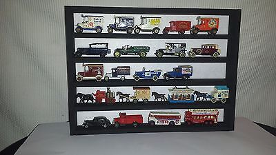 Wall Display Rack for model cars - small trucks - wagons and horses