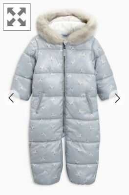 Snowsuit For 6-9 Month-old Baby By Next