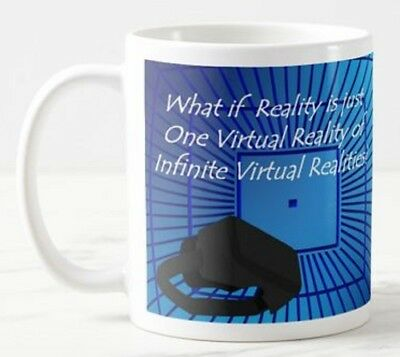 What If Reality - Virtual VR Glasses Headset Goggles Games Funny Mug Gift