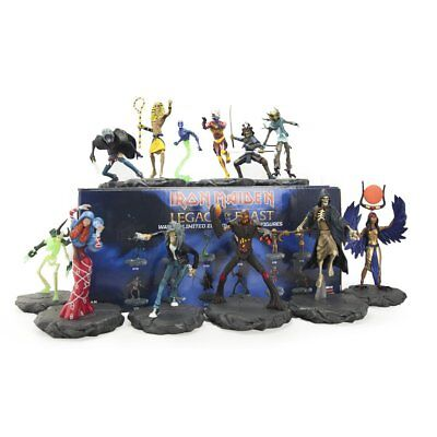 Iron Maiden Legacy of the Beast Figures Series 1 Revealed LIMITED EDITION Wave 1