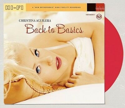 Christina Aguilera - Back To The Basics Limited Red 2xLP Vinyl