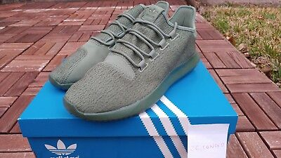 658e43198c8 Men s ADIDAS Tubular Shadow Casual Shoes Trace Green Tactile Yellow BY3573  SZ 10