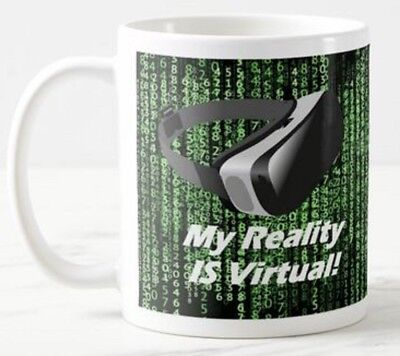 My Reality is Virtual - VR Glasses Headset Googles Games Funny Mug Gift