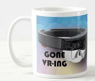 GONE VR-ING  - VR Virtual Reality Glasses Headset Goggles Games Funny Mug Gift