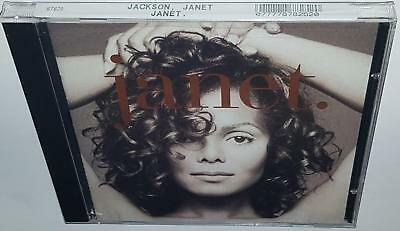 JANET JACKSON janet. (1993) BRAND NEW SEALED CD [THAT'S THE WAY LOVE GOES]