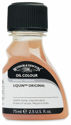 Winsor & Newton Liquin Original Oil Painting Quick Drying Glazing Medium 75ml