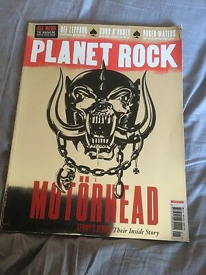 Planet Rock May 2017 First Issue 1 Motorhead Def Leppard Roger Waters Guns Roses