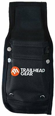 NEW Trailhead Gear Black Durable Tree Felling Bucking Wedge Belt Pouch Holdster
