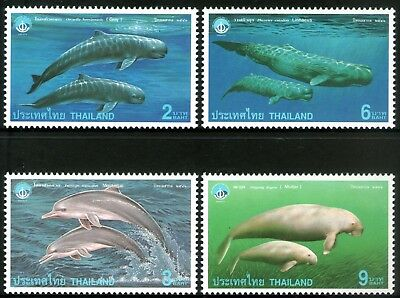Thailand 1998 International Year of the Ocean set of 4 Mint Unhinged