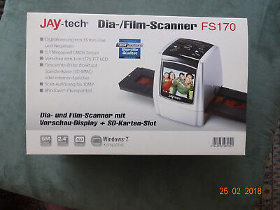 Jay-tech-Dia-/Film-Scanner  FS170
