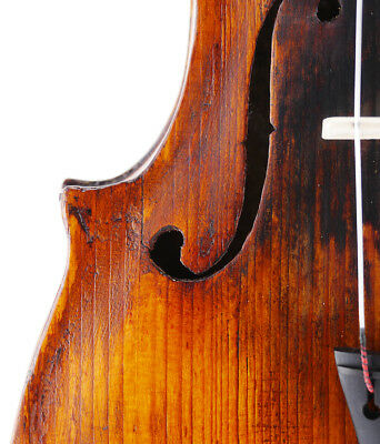 Rare, very old, antique Italian 4/4 violin - Ready to play - fiddle