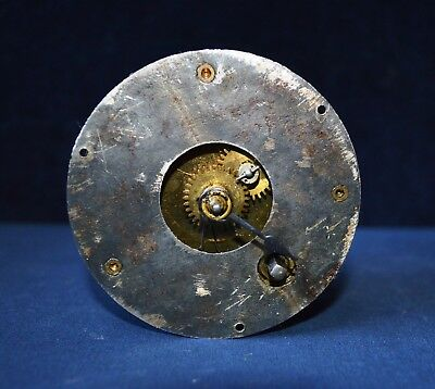 Antique Lenzkirch Small Clock Movement Stamped 1 Million