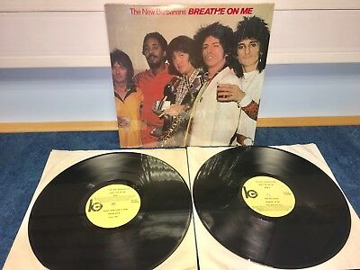 THE ROLLING STONES- New Barbarians Breath On Me RARE LIVE VINYL X2 LP MINT !!!!!