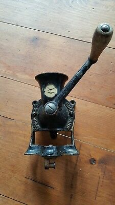 Antique Spong and Co. LTD No. 1 Coffee Mill with Original Label Grinder