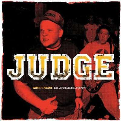 Judge - What It Meant The Complete Discographie 2LP COLORED VINYL