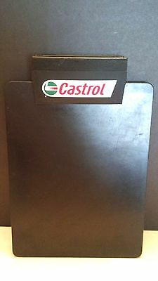 Mobil Gargoyle Gas & Motor Oil Service Station Metal Clip Board With Calendar