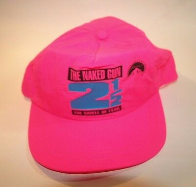 The Naked Gun 2 1/2 Snap Back Pink Hat Paramount Leslie Neilson   O.J. Simpson