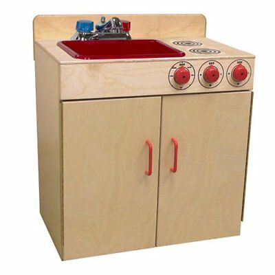 "Wood Designs WD10500 Child's Combo Sink / Range, 24 x 25 x 15"" (H x W x D)"
