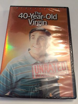 The 40-Year Old Virgin DVD Unrated Widescreen New Sealed