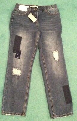 BNWT Ladies Girls George Straight Denim Jeans Size 10