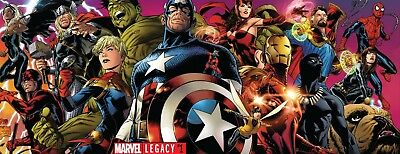 MARVEL LEGACY ISSUE 1 - JOE QUESADA DOUBLE GATEFOLD COVER - FIRST 1st PRINT