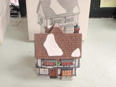 Dept 56 Dickens Village Tutbury Printer Building 55689 LIGHTED HOLIDAY GIFT SALE