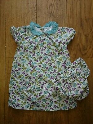 Beautiful Mini Boden dress and frilly knickers age 18-24. Great condition