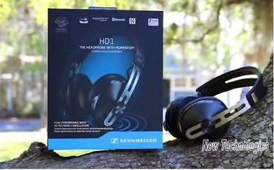 SENNHEISER HD1 WIRELESS Bluetooth Over-Ear Headphones w/WARRANTY Touch Controls