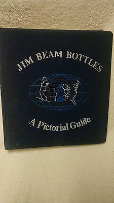 Jim Beam Bottles A Pictorial Guide - Original In Very Good Condition