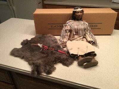 Daddy's Long Legs Morning Dove Native American Doll Signed by Karen Germany 22""