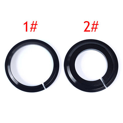 """Bike 1-1/8"""" Front Fork & 1.5"""" Tapered Tube Headsets Crown Race Cycling Component"""