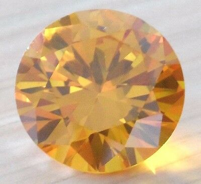 8X8mm AAAAA Yellow Sapphire Square Cushion Faceted Cut 3.47ct VVS Loose Gemstone