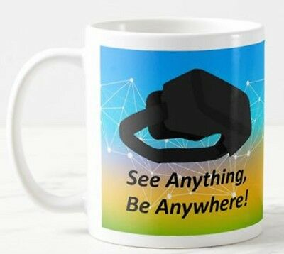 See Anything Be Anywhere -  VR Virtual Reality Headset Goggles Game Gift Mug