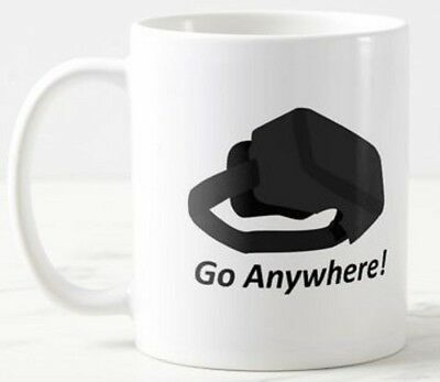 Go Anywhere -  VR Virtual Reality Headset Goggles Glasses Game Gift Mug