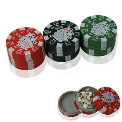 3 Layers Tobacco Grinder Herbal Herb Spice Weed Cigar Smoke Crusher Hand Muller