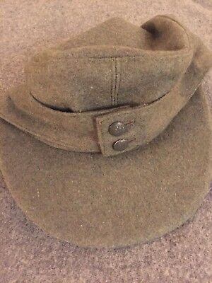 ORIGINAL WWII Wehrmacht M43 Field Cap 1943 Dated Perfect condition