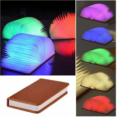 Reading Book LED Night Light  Foldable Table Lamp USB Desk Booklight