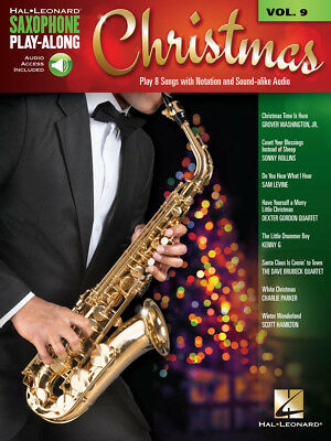 Christmas - Saxophone Play-Along Volume 9 - Sax Music Book with Audio Access