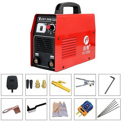 1Pcs ZX7-200 Mini MMA ARC Welder DC IGBT Welding Machine Solder Inverter 220V
