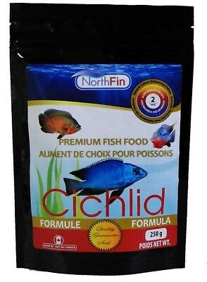 NORTHFIN CICHLID FORMULA 2mm 100g FREE UK POSTAGE