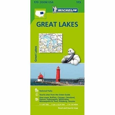 Great Lake Zoom Michelin Map 173