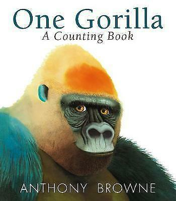 One Gorilla: A Counting Book,Browne, Anthony,New Book mon0000119148