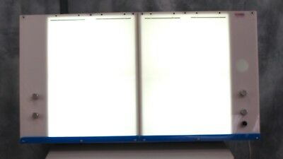 X-Ray Light Box Double with 4 Separate Illumination Sections
