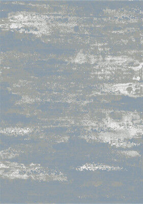 Modern Tribal Tibetan Style L.Blue, GREY Faded Silk Like Vintage Distressed Rugs